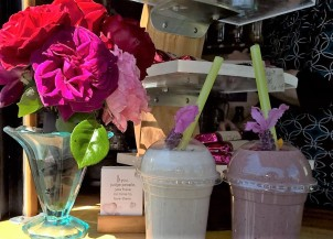 smoothies at Nelson market