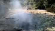 Geothermal hot pool.